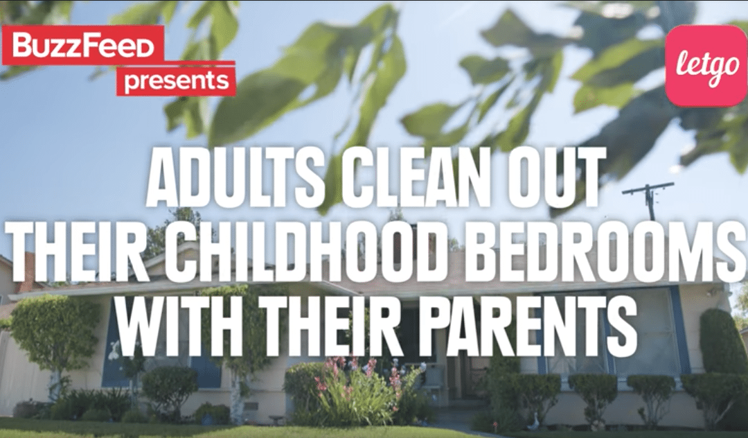 Kids Clean Out Their Rooms With Their Parents